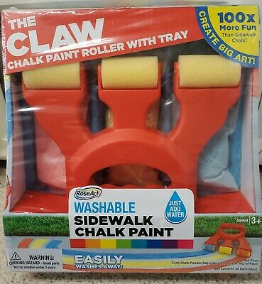 RoseArt The Claw Chalk Paint Roller with Tray