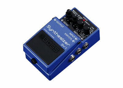 Boss SY-1 Polyphonic Guitar Synthesizer Pedal - FREE 2 DAY SHIP