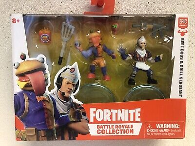 FORTNITE BATTLE ROYALE COLLECTION  Beef Boss Grill Sergeant  - ACCESSORIES