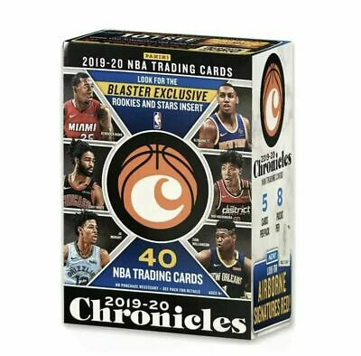 2019-20 Chronicles Basketball NBA 8 PACKS SEALED BLASTER BOX NEW
