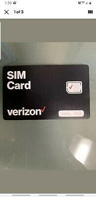 Verizon SIM • Samsung Galaxy S7 S88- S99- S1010-10e S2020- A20 Note91020