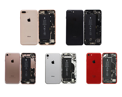 OEM Apple Back Housing Rear Frame Assembly Kit iPhone 6s 7 8 Plus X XR GRADE A
