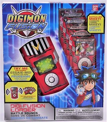 Digimon Fusion DIGIFUSION LOADER Bandai XROS - BRAND NEW - Battle Sounds Mikey