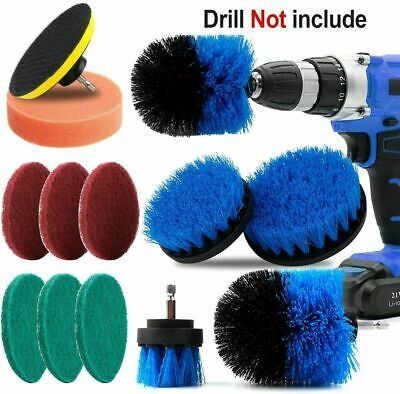 12x Electric Drill Power Spin Brush for Car Cleaning Kitchen Bathtub Tile Carpet