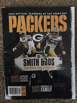 Green Bay Packers 2020 Official Yearbook Magazine