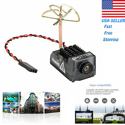 Spotter V2 Micro FPV AIO Camera 5-8G wOSD Integrated Mic 700TVL for RC Drone
