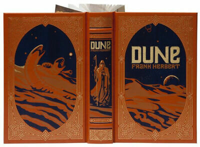 DUNE by Frank Herbert  LEATHER BOUND BRAND NEW COLLECTIBLE  SEALED