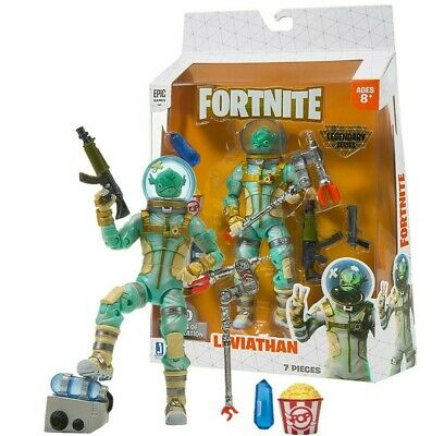 Epic Games FORTNITE Legendary Series LEVIATHAN Action Figure 7 pieces NEW
