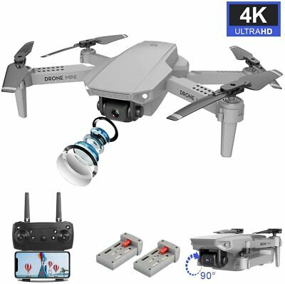 4K Ultra HD Dual Camera Selfie RC Drone Wide-angle Foldable FPV Quadcopter Gifts