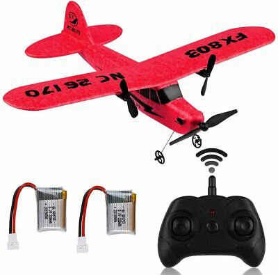 FX-803 RC Plane 2-4GHz 2CH 6-Axis Remote Control RTF Airplane for Kids Toy Gift