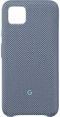 NEW Official Google Fabric Case for Google Pixel 4 Smartphones - Blue-ish