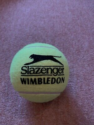 Large Slazenger Wimbledon Ball