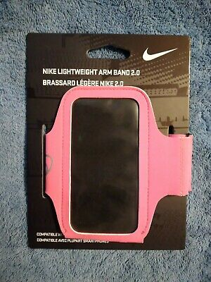Nike Lightweight Arm Band 2-0 Pink Fits Most Smartphones