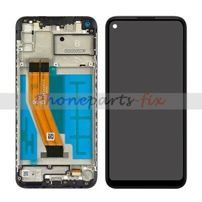 For Samsung Galaxy A11 A115U A115A LCD Touch Screen Digitizer Frame Replacement