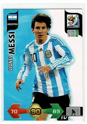 2010 Panini XL Adrenalyn World Cup Lionel Messi SHARP
