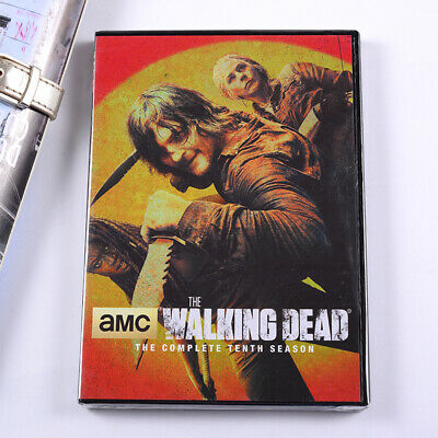 The Walking Dead Season 10 DVD 5-Disc Set 2020 Fast Shipping new and sealed