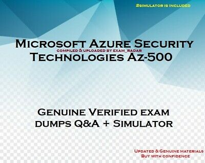 Az-500 verified practice Exam Questions answers and simulator