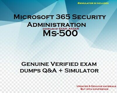 MS-500 verified practice exam questions answers - Simulator