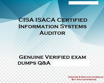 CISA ISACA Certified Information Systems Auditor practice QA - Simulator