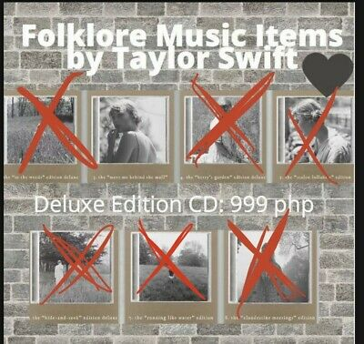 Taylor Swift Exclusive Folklore Album Sealed