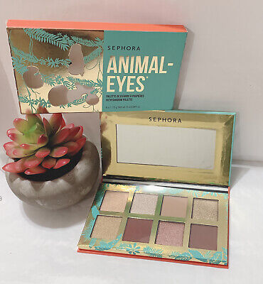 Sephora Collection Animal Eyes Eyeshadow Palette Limited Edition 8 x Eyeshadows