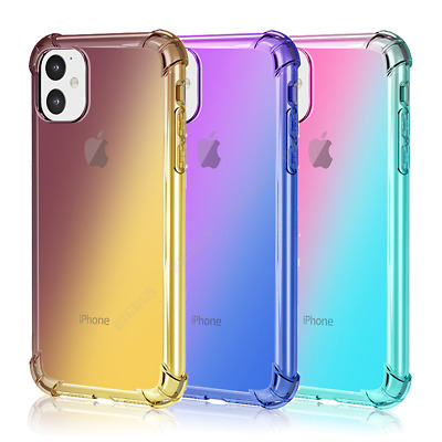 For iPhone 1112 Mini Pro Max 7 8 Plus X XR XS SE Colorful Case Shockproof Cover