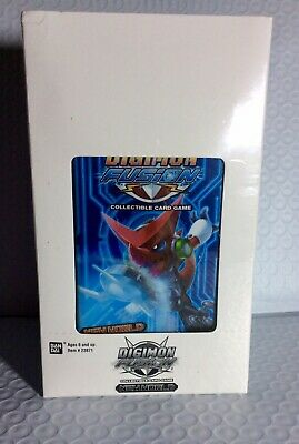 Digimon Fusion New World Blister Booster Box NEW Trading Card Game TCG CCG