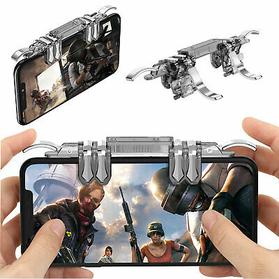 K19 Mobile Game Controller 6 Finger Fire Button For Fortnite PUBG Android iOS