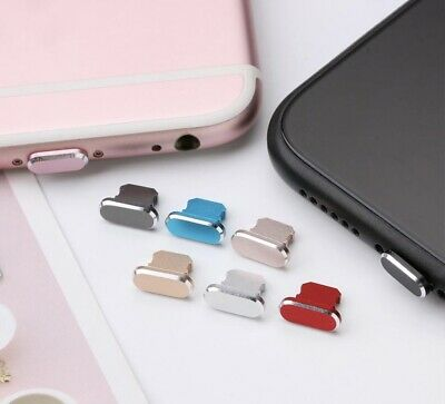 Anti Dust Plug Cover Charger Port Cap for Apple iPhone 6 7 8 X XS 11 SE Pro Max