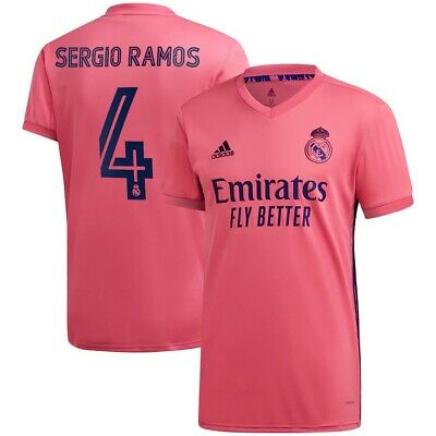 SERGIO RAMOS REAL MADRID AWAY SOCCER JERSEY LARGE ADULT SIZE -