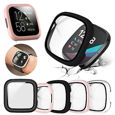 Full Cover Case Screen Protector For Fitbit Versa3Fitbit Sense Watch Protection