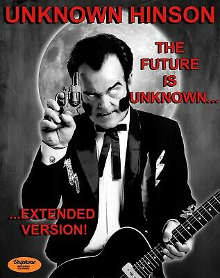 NEW UNKNOWN HINSON THE FUTURE IS UNKNOWN- EXTENDED VERSION CD HAND SIGNED 2021