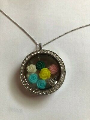 Origami Owl Locket with Mothers Day Charms