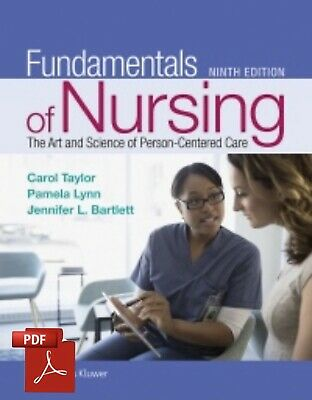 READ DESCRIPTION Fundamentals of Nursing 9th Edition by Taylor Lynn - Bartlet