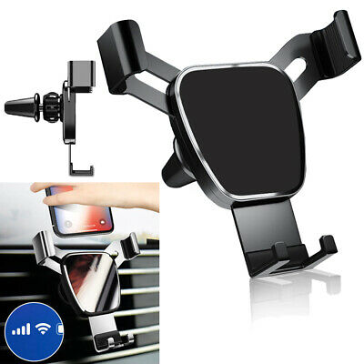 Gravity Car Mount Air Vent Phone Holder for iPhone 12 11 XR XS Max Samsung S10