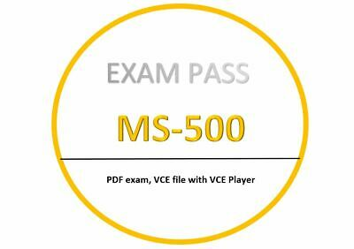 MS-500 VCE test PDFVCE exam SEPTEMBER Updated 382 Questions