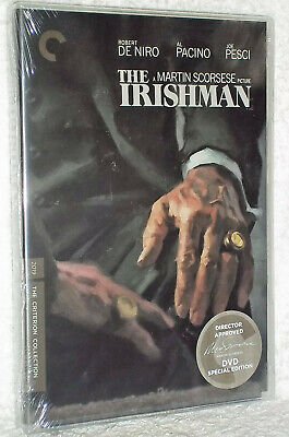 The Irishman DVD 2020 2-Disc Brand New - Sealed Fast Shipping US Region 1