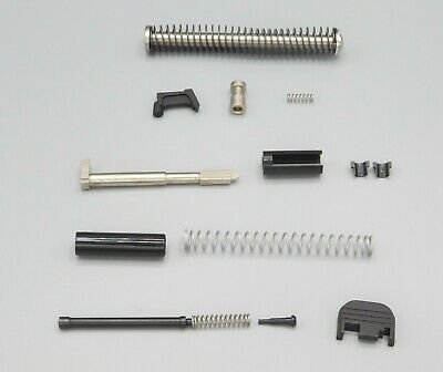 KG Complete Slide Parts Kit With Stainless Steel Recoil Rod For Glock 19 Gen 1-3
