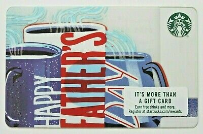 Starbucks 2018 Happy Fathers Day 👨💼  Gift Card