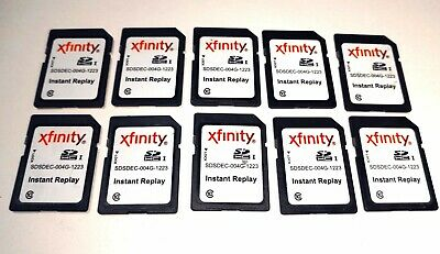 Lot 10 - XFINITY 4GB SD CARD Class 10 - SDHC Memory Card - LOT X10