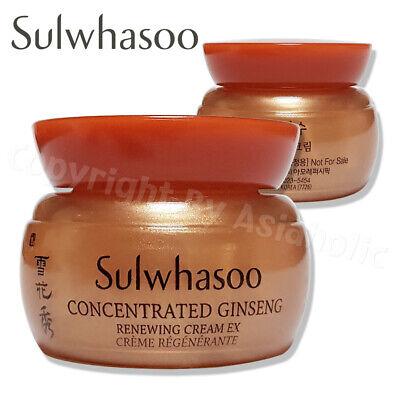 Sulwhasoo Concentrated Ginseng Renewing Cream EX 5ml 1pcs  20pcs Newist Ver