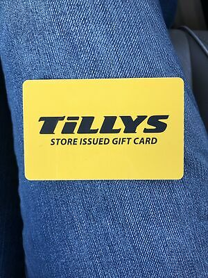 Tillys Store Issued Gift Card 79-65