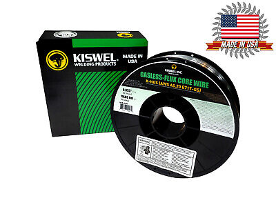Kiswel E71T-GS -035 in- Dia 10lb- Gasless-Flux Core Welding wire Made in USA