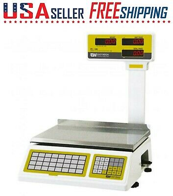 EASY WEIGH PC-100 Pole Price Computing Scale 60Lb Weigh Scale S2000 PC100