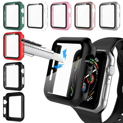 Apple Watch Series 654SE32 Screen Protector Case iwatch 44404238mm Cover
