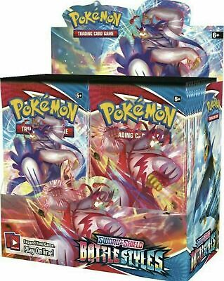 PRE-ORDER POKEMON BATTLE STYLES BOOSTER BOX 36 PACKS SEALED SHIPS 515 WAVE 2