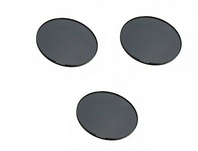 3x Dashboard Dash Disc Disk Plate GPS for Garmin Mount Holder Suction Cup 80mm