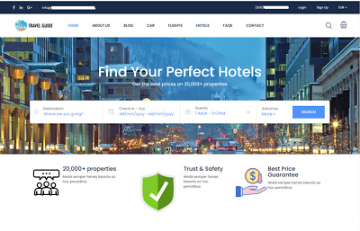 Automated  Affiliate Travel Hotel - Flight search engine and booking business
