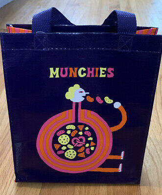 Munchies Gift Bag NWT By BlueQ Bags - 95% Recycled Material