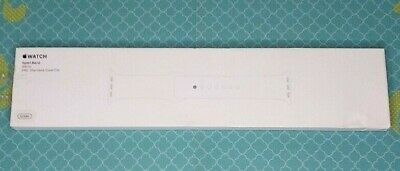 Sport Band for Apple Watch Band 42mm  44mm - White MJ4M2ZMA Size SM or ML